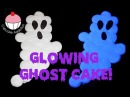 GLOWING GHOST CAKE! How To Make a GLOWING Halloween Pull-Apart Cupcake Cake by Cupcake Addiction