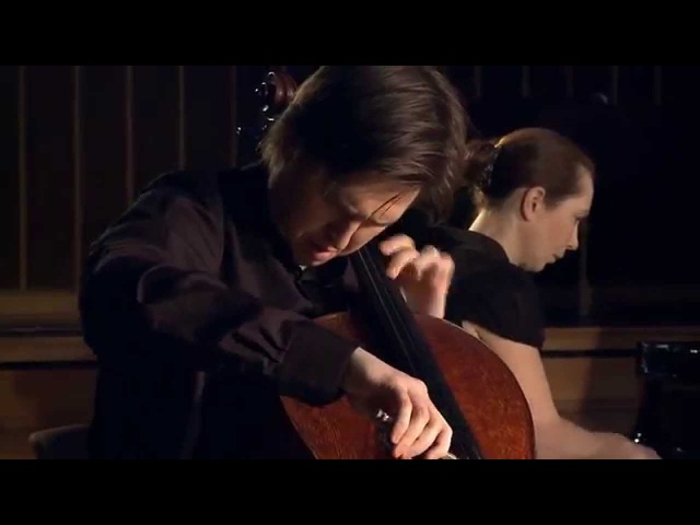 Alexey Stadler cello Karina Sposobina piano J. Sibelius Malinconia op. 20