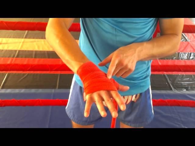 Намотка бинтов для бокса фото