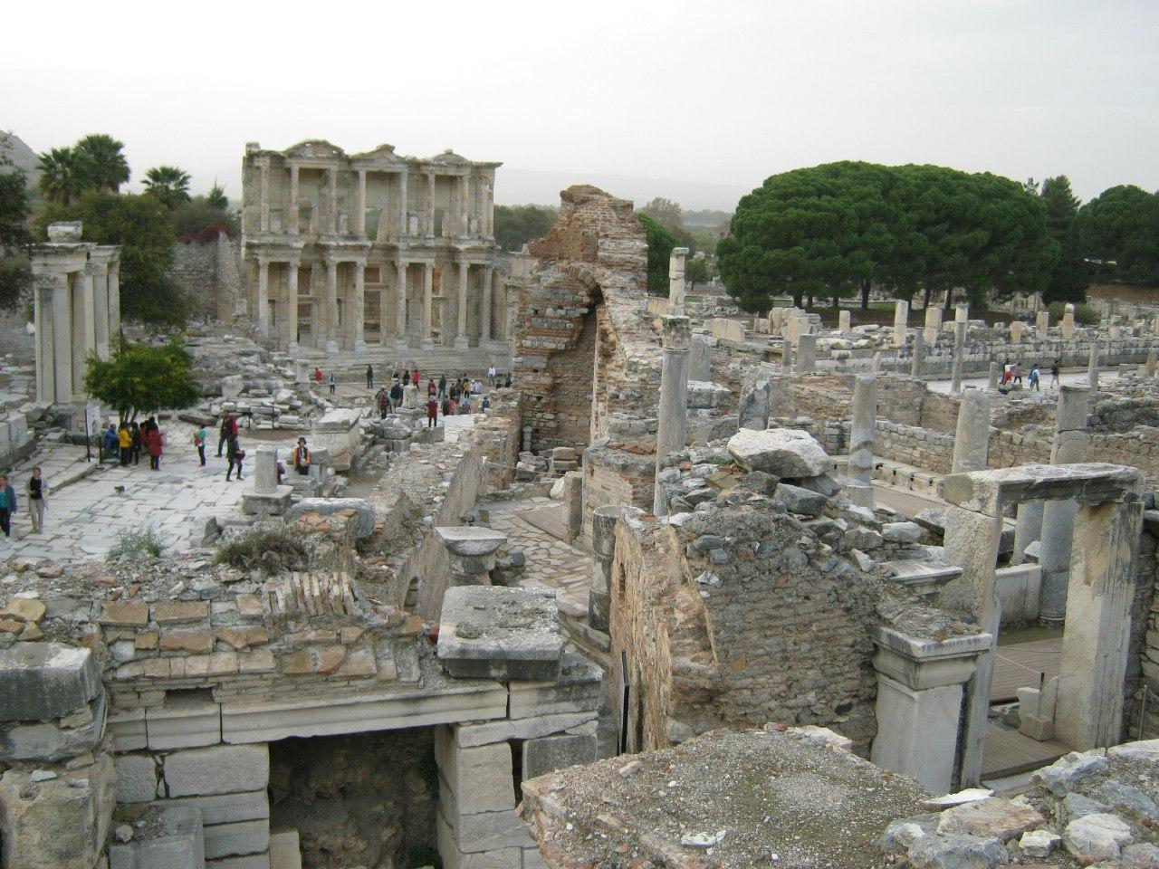 часть древнеримского города Ефес