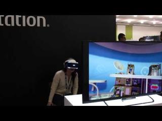 Sony Morpheus demos at SVVR expo 2015