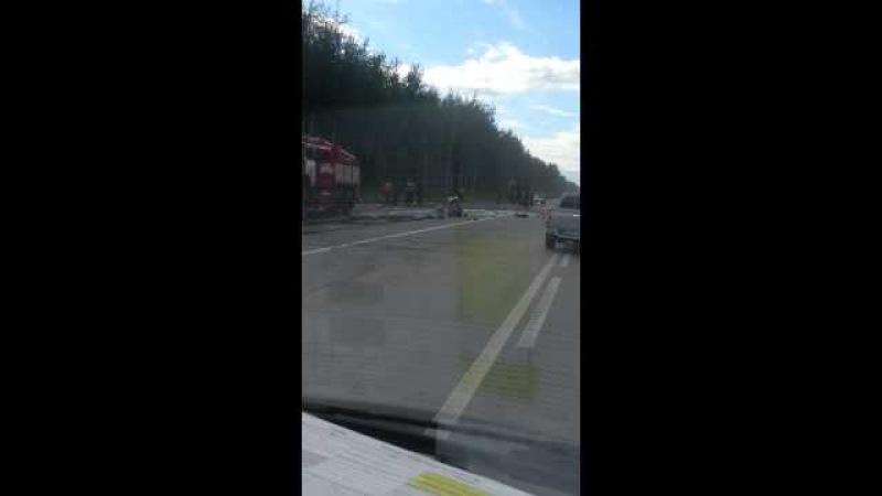 г нижневартовск авария 11 08 2015 траса Мегион Су