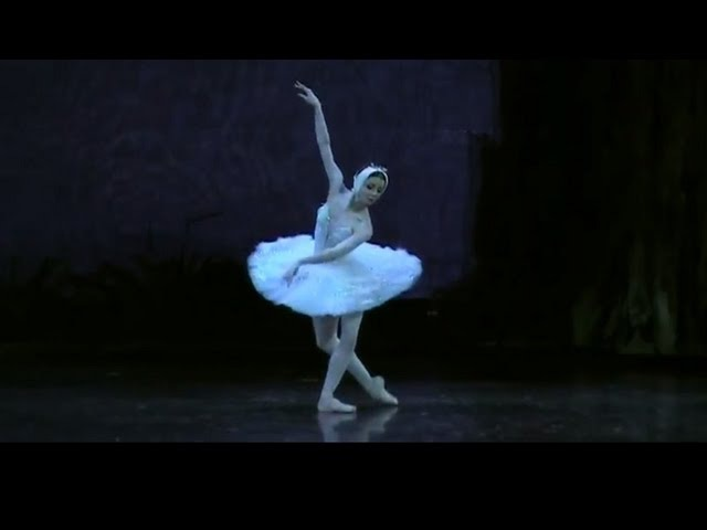 Evgenia Obraztsova Swan Lake Part 3 Odette's variation and exit