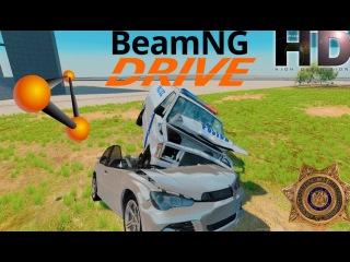 #BEAM NG DRIVE EPIC CRASH / Polis