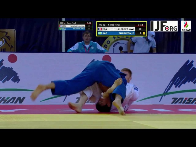 MAGICAL IPPON 3 FRA CLERGET Axel at Grand Prix Almaty 2016