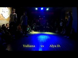 #НедетскийZames / Odessa  / Hip-Hop Beg / Semi-Final / Yuliana (win) vs Alya D.