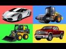 Сборник про МАШИНКИ. Зачем нужен Экскаватор Автовоз и Гоночные машины - Несколько серий подряд