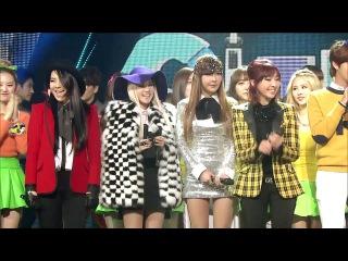 Выступление  2NE1 - MISSING YOU @SBS Inkigayo No.1.