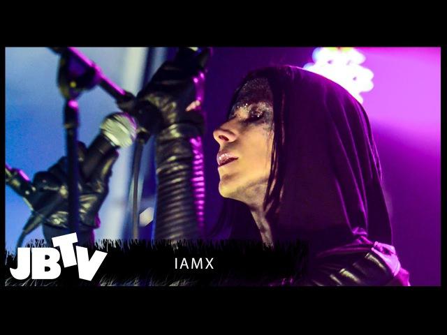 IAMX No Maker Made Me Live @ JBTV
