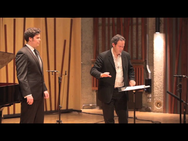 Guildhall Masterclass Gerald Finley Vocal Masterclass Thomas Atkins