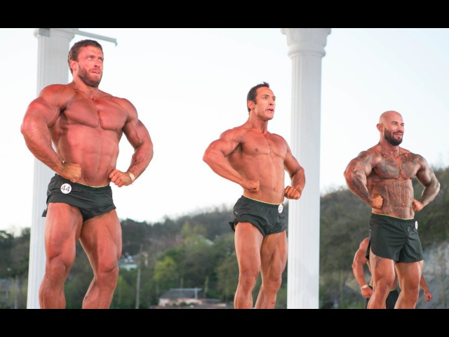 DMITRY KLOKOV Bodybuilding competition Yashankin Cup 2015