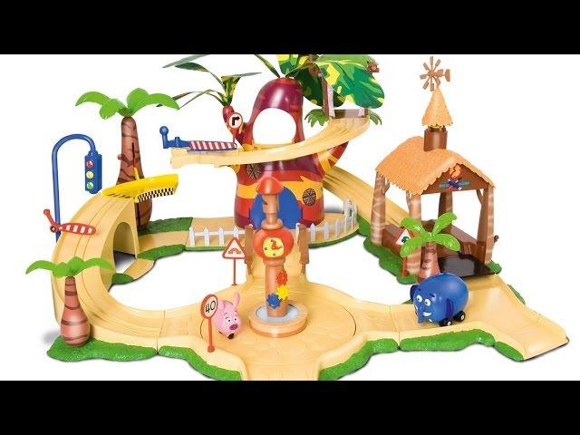 Мультфильм для детей Перекресток в Джунглях Игра на пляже
