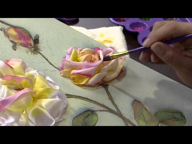 Rosas da Hebe em um quadro por Valeria Soares - 07/08/2013 - Mulher.com - P 2/2