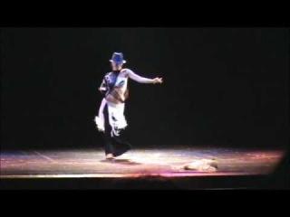 Shahdana Tango en el show Bs As Oriental