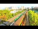 [HD] The Southbound Through Train ktt Z825 (GuangZhou to Kowloon) at Fanling