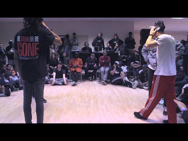 Battle RBH IV Finale Larry (les Twins) régi (criminalz) vs djylo (sarcellite) yanka (YZ)