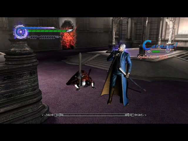 DMC4SE Vergil Dante vs the Order of the Sword