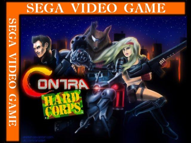 Contra Hard Corps (SEGA) - Прохождение - [Cheated]