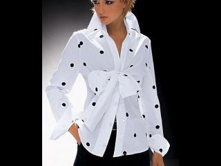 Блузка с бантом. Моделируем.
