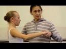 Russian ballet school Урок классического танца в НГХК Видео 14