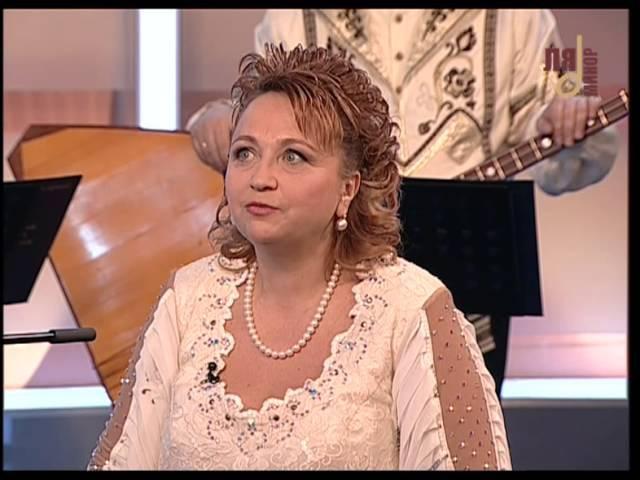 Надежда Крыгина в эфире телеканала Ля-Минор