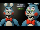 FNaF 2 ★ Toy Bonnie Tutorial - Polymer clay / Porcelana fria / Plastilina
