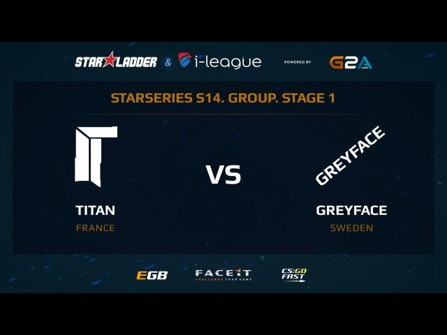Titan vs GreyFace - Map 2 - Train (SL i-League StarSeries XIV)