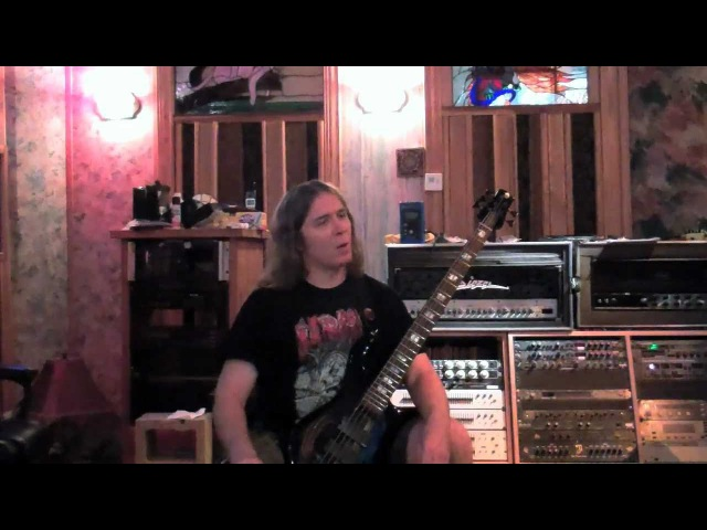 Cannibal Corpse Torture studio video: guitar and bass tracking