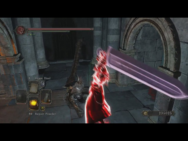 Dark Souls 2 Oro's Arsenal Crypt Blacksword