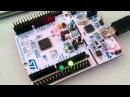 Nucleo STM32L152 First RTOS test