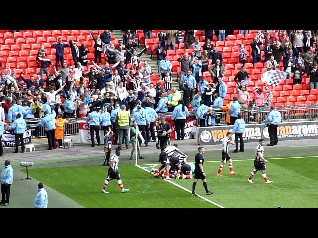 Grimsby Town FC 3RD Goal Vs Forest Green Rovers FC - National League Promotion Final 2016