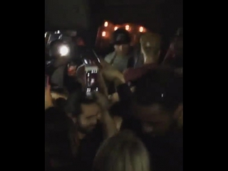 December 8: Fan taken video of Justin at Lost And Found in Toronto, Canada.