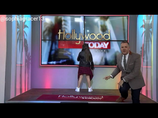 SOPHIA GRACE | GIRL IN THE MIRROR (solo) Exclusive performance at Hollywood Today Live🎤🎶