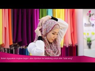 Neng Geulis Hijab Tutorial 1 - Hawa Extend