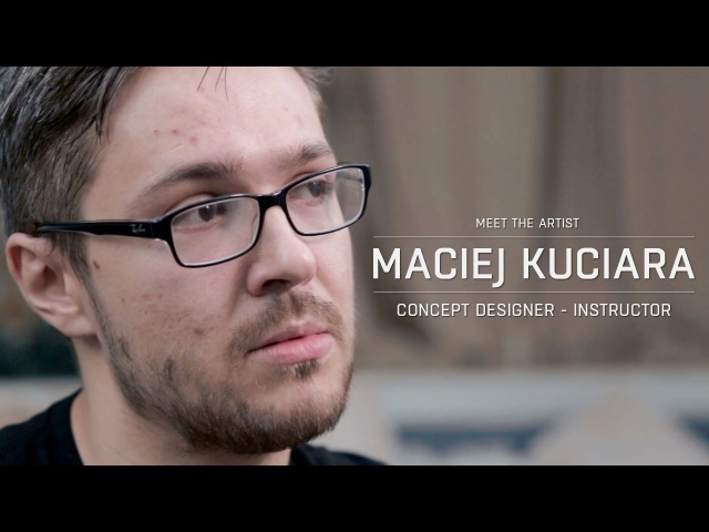 Meet the artist Maciej Kuciara