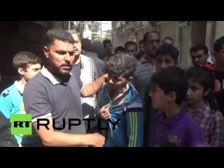 «Режим тишины» позволил жителям Алеппо начать восстанавливать  порядок на улицах