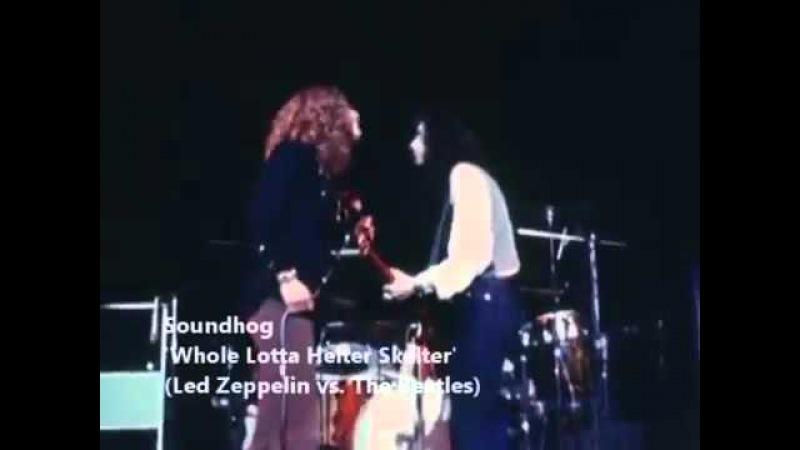 Los Beatles Vs Led Zeppelin Whole lotta helter skelter