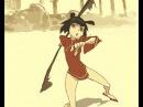 自主制作アニメ- [ 自製動畫 ] - kong fu girl vs samurai girl - by