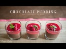 ヘルシーで濃厚なショコラプディングの作り方:How to make Chocolate Pudding | Veggie Dishes by Peaceful Cuisine