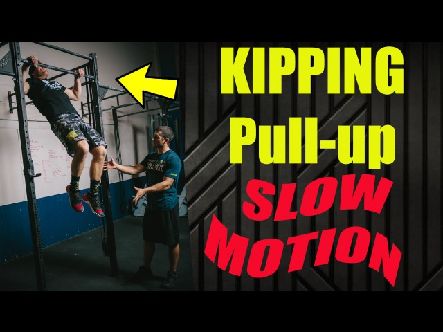 Kipping Pull up Slow Motion (WODprep Tutorial)