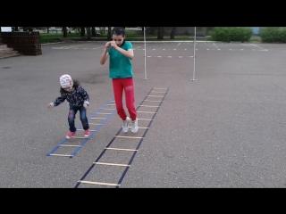 Лестницы скорости и координации для разных возрастов