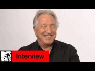 Alan Rickman Interview   MTV News