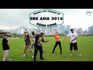 JUDEGES SHOWCASE | SDK ASIA 2016 | JAMCITYHK LIVE |