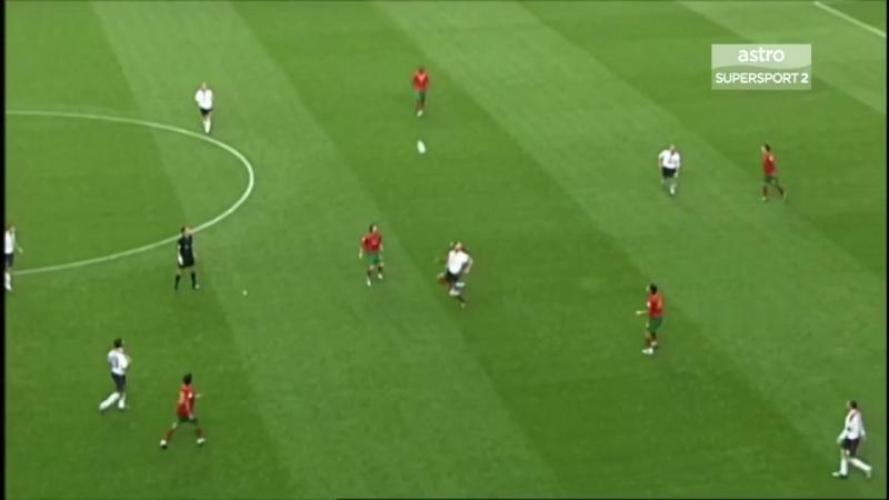 Portugal v England 24-06-2004 Extended Highlights HD
