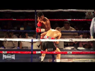 Roman Gonzalez (Nic) vs Valentin Leon (Mex) - Full Fight - Nica Boxing Promotions