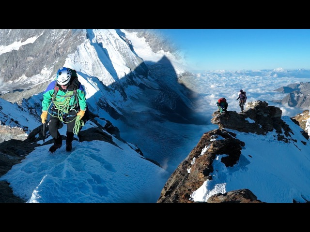 Cervin Cervino Matterhorn Arête du Lion Arête Sud Ouest Breuil Cervinia alpinisme montagne escalade