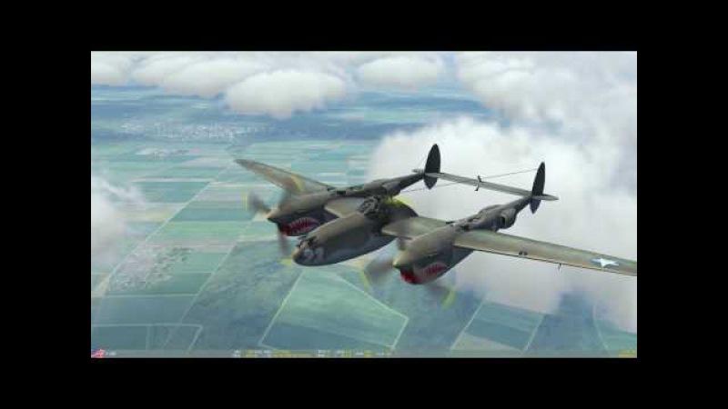 [DCS: Bf 109K-4] VeteranMission2 (P38D mod)