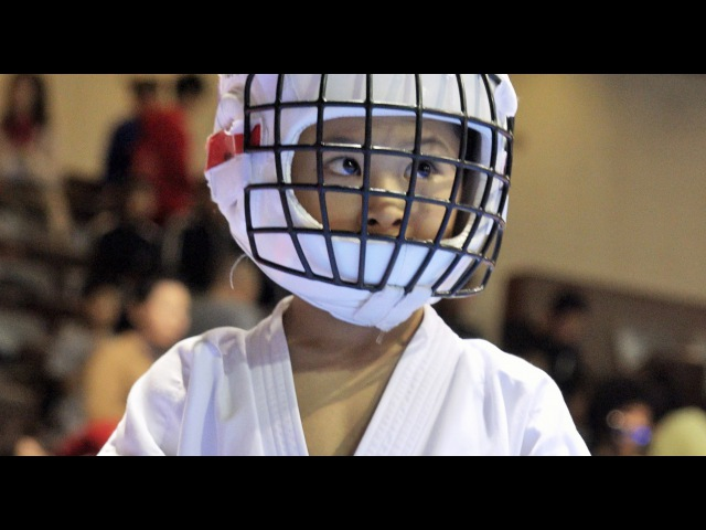 負けるもんか!空手少年少女たちの決勝戦Junior Team Kumite Final 2015 Kyokushin kan