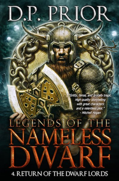 Prior - Return of the Dwarf Lords  (Legends of the Nameless Dwarf 04)