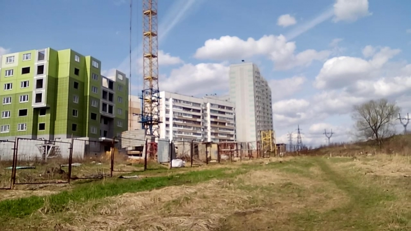 Микрорайон ЖК Парус по ул Хворостухина г Тула
